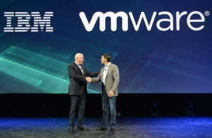 IBM/vmware execs (Alan M Rosenberg/Feature Photo Service for IBM)